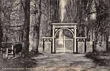 Christiansfeld Denmark Kirkegarden Gate Scenic View Antique Postcard J67905