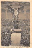 B98106 heros pantheon de la guerre  postcard paris france gorguet military