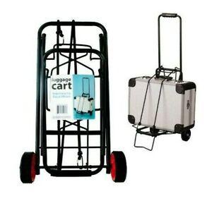 Kole Imports Portable Folding Luggage Cart