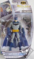 "DETECTIVE BATMAN DC Comics Total Heroes 6"" inch Action Figure Mattel 2014"