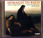 Tapiola Chamber Choir BRAHMS Max REGER Motets Bach Homage CD Juha Kuivanen