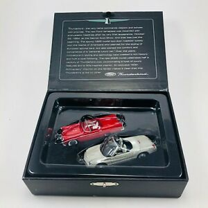 Hallmark Ornament Ford Thunderbird 50th Anniversary Limited Edition Set of 2