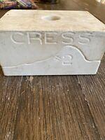 Vintage Cress Animal Mold #2 Seal