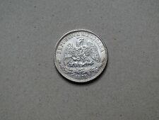 un peso 1871 Mo M. 902,7  Republica Mexicana Silver currencies South America