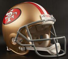 SAN FRANCISCO 49ers 1964-1995 NFL Riddell AUTHENTIC Throwback Football Helmet
