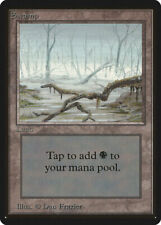Swamp (Vers.1) - BETA Edition  - Old School - MTG Magic The Gathering