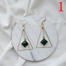 Bohemia Jewelry Long Dangle Tassel Earrings Crystal Colorful Party Drop Ear Stud Light Blue