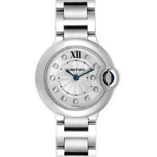 Cartier Ballon Bleu Silver Women's Watch - WE902073