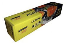 *Alu-Wrap Aluminium KITCHEN/CATERING FOIL 12''-300mm x 75 meters Per Roll  AF001