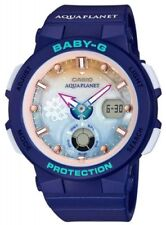 Casio Baby-G Love the Sea and The Earth Wave Solar Ladies Watch BGA-250AP-2A