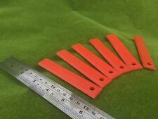 6 Plastic Blades suits 3 & 4 Swing blade trimmer head brushcutter FREE POSTAGE