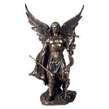 Archangel Gabriel with Staff Bronze Figurine By Nemesis Now / Angel Statue