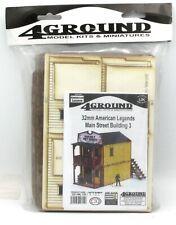 4Ground 32S-AML-106 Main Street Building 3 (32mm American Legends) Terrain Kit