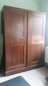 Kleiderschrank Antik Weichholz