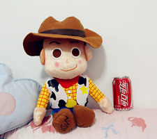 Disney Toy Story 3 Plush Toy WOODY Bean Bag Stuffed Doll Gift Japan