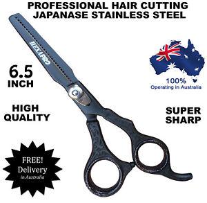 HAIRDRESSING BARBER SALON HAIR THINNING SCISSORS SHEARS RAZOR BLADE 6.5 INCH