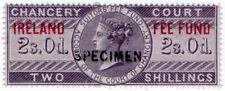 (I.B) QV Revenue : Ireland Chancery Fee Fund 2/- (specimen)