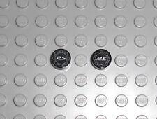 LEGO Technic - 2x Fliese 1x1 rund mit Porsche RS Logo - 911 GT3 Decal Tile 42056