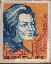 Guillaume de machault yt1955 france fdc first day envelope letter