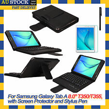 Removable Bluetooth Keyboard Case Cover For Samsung Galaxy Tab A 8.0 T350 T355