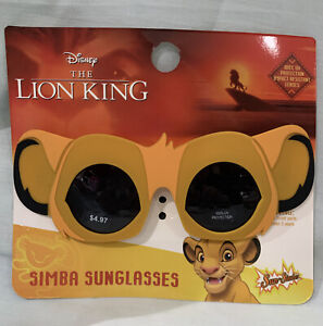 "Disney ""The Lion King Simba"" Children's Sunglasses UV Protection, Fun Face!"