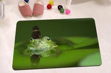 """24x16"""" Non-Slip Bathroom Door Floor Decor Carpet Bath Mat Rug-Butterfly On Frog"""