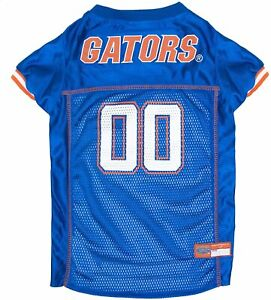 Florida Gators Dog Jersey - LARGE - Blue - Official NCAA - Pets First - NWT