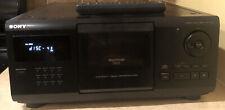 Sony CDP-CX200 MegaStorage 200 Disc CD Player & Remote Control Bundle