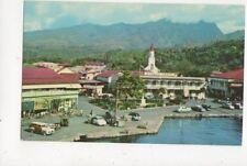 A Glimpse Of Papete Fiji Old Postcard 453a
