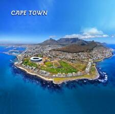 Kapstadt Foto Magnet Epoxid Cape Town Südafrika Tafelberg Souvenir,8x8 cm