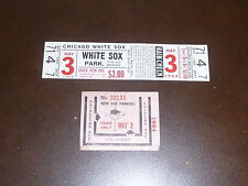 1964 LA ANGELS AT WHITE SOX D.H. FULL TICKET NR MINT. FLOYD ROBINSON ON TICKET