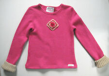 Laura Biagiotti Junior Girls Pink Long Sleeve Top Cardigan Sweater Size S (8-10)