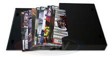 BCW Comic Book Stor-Folio 1.5 Inch Storage Portfolio Box Carrying Case - BLACK
