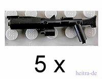 Little Arms - 5 x Rifle schwarz / Waffe für LEGO Star Wars Clone Trooper NEUWARE