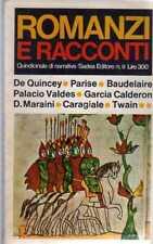 ROMANZI E RACCONTI-N° 8 SADEA-BAUDELAIRE-TWAN