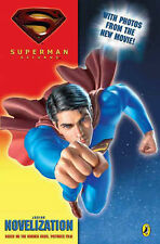 """Superman Returns"" Novelization, Dc Comics, New Book"