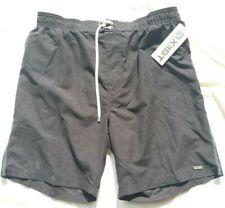 NWT 2(x)ist Men's XL Black Swim Shorts Style #36N7001801X/00101  $105