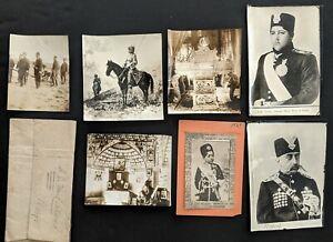 1900-10s Persia Iran Middle East Culture Film Negatives & Photo Lot (35 pcs)