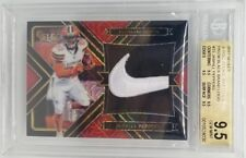 2017 Select Jabrill Peppers RC Rookie Nike Swoosh Black Logo 1/1 BGS 9.5 Browns