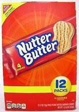 Nutter Butter Cookies Nabisco 12 Ct  Peanut Cookie Bulk NutterButter Free Ship