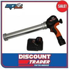 SP Tools 12V Lithium-Ion Cordless Cartridge Caulking Gun Kit 600ml SP81363