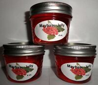 Fresh MAYHAW JELLY 1/4 Pint (4 oz.), I Also Have Larger Sizes, FREE SHIPPING