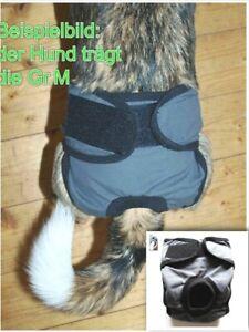 Schutzhöschen Hundehose Inkontinenz Windel Läufigkeitshöschen waschbar Hose Grau