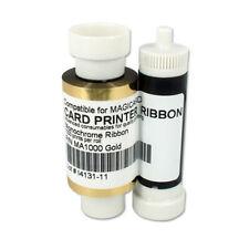 MA1000K Gold Ribbon for Magicard Pronto Enduro3E Rio Pro Card Printer 1000 Print