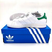 Adidas Originals Stan Smith Leather MENS & WOMENS Trainers Shoes White Green