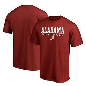 Alabama Crimson Tide Fanatics Branded True Sport Softball T-Shirt - Crimson