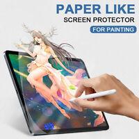 For Ipad 11 12.9 Pro Air 2020  Paper Like Pet Film Screen Protector Matte
