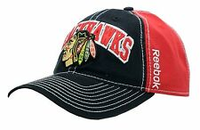 90f97fccb9d Chicago Blackhawks 2-Tone Stitches Logo Buckle Back Cap - 4796