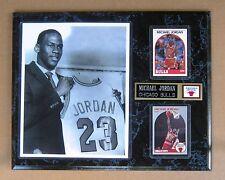 Chicago Bulls Michael Jordan Draft Day Photo Plaque