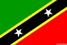 ST KITTS AND NEVIS FLAG 3X2 feet 90cm x 60cm FLAGS Caribbean